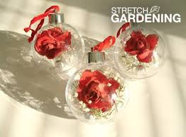 make dried flower ornaments