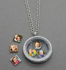 photo charms and floating locket