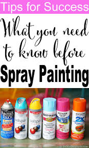 how to spray paint faq s in my own style