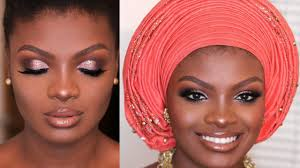 nigerian traditional bridal makeup and