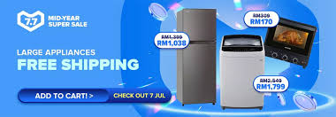 mid year super large appliances