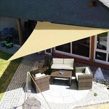 patio garden sun shade outdoor sail cloth