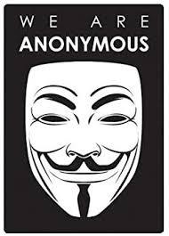 Amazon Com Ew Designs We Are Anonymous Sticker Decal Vinyl Hacker Group Internet Bumper Sticker Vinyl Sticker Car Truck Decal 5 Kitchen Dining