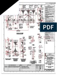 1604 00 Dwg Ci 2305 Rev C Standard Drawing For Chain Link Fence Elevation And Details