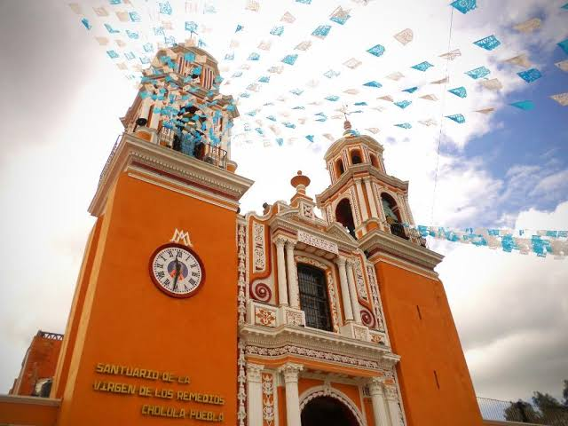 fachada de la Iglesia de los Remedios