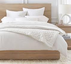 bliss cotton linen quilt shams