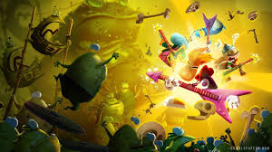rayman legends rock n roll wallpaper