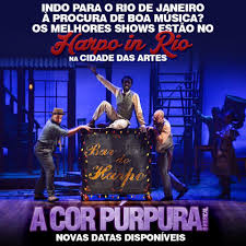 Estará no Rio de Janeiro para curtir um... - A Cor Púrpura - O ...