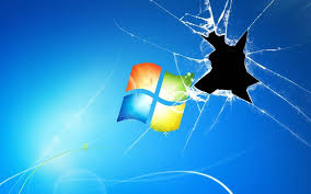 broken screen windows 10 theme