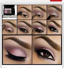 easy pink eye makeup tutorial pictures