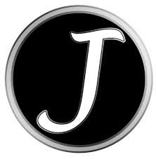 Letter J Black Monogram Tumbler Decal Tumbler Decals Advanced Graphics Inc