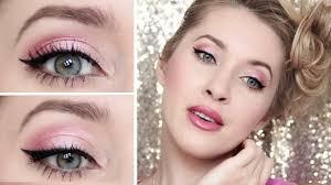 makeup tutorial pink party look