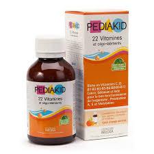 Pediakid bổ sung 22 vitamin cho bé từ 6 tháng tuổi