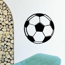 Shop Soccer Ball Vinyl Wall Art Decal Sticker Overstock 10792839