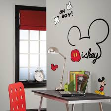 All About Mickey Giant Wall Decals Roommates Decor