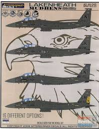 Afd48045 1 48 Afterburner Decals F 15e Strike Eagle Lakenheath Mudhens 48045