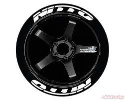 Tire Stickers Permanent Raised Rubber Lettering Nitto Ts Nitto Rr