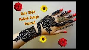 arabic mehndi design for dubai