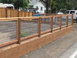 Hog Wire Fence 3 1 Hog Wire Fence Building A Fence Fence Design
