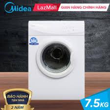 Máy Sấy MIDEA 7.5 Kg - Công nghệ sấy đảo chiều - Máy sấy làm khô quần áo