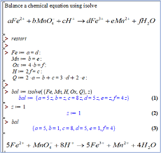 solving equations and systems of