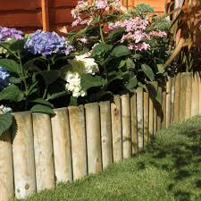 How To Fix Log Roll Edging The Gardenstreet Blog