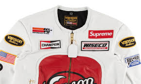 supreme vanson leather star jacket ss