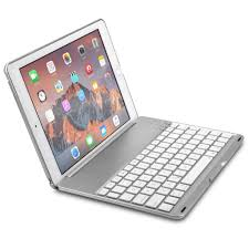 Cooper NoteKee F8S Clamshell Backlight Keyboard case for Apple iPad –  Tablet2Cases