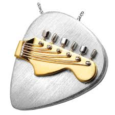 two tone guitar pick guitar urn