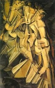 Desnudo bajando una escalera nº2, 1912, por Marcel Duchamp