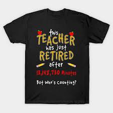retirement gift for retired teacher