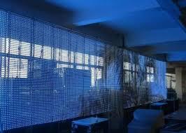 1r1g1b al led curtain display