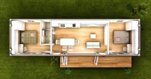 container house 2 bedroom 40 foot