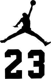 23 Air Jordan Jumpman Logo Huge Wall Decal Sticker For Car Mymonkeysticker Com