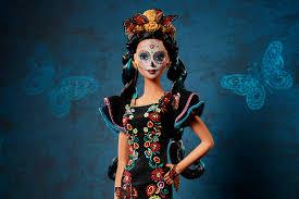 día de muertos barbie respectful