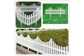 Garden Border Fencing Fence Pannels Outdoor Landscape Decor Edging Yard 12 Pack Matt Blatt