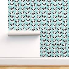 kawaii panda pattern with funny cute