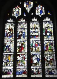 stained glass windows in gothic