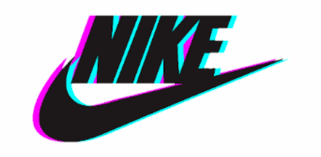 Nike Blue Pink Aesthetic Glitch Sticker Logo Imagenes Tumblr Nike Transparent Png Download 4302891 Vippng