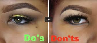 hooded eyes makeup do and don t easy