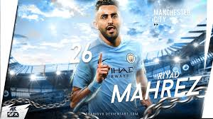 12 mahrez manchester city wallpapers