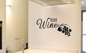 Ebern Designs Drink More Wine Vinyl Words Wall Decal Wayfair