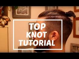 top knot tutorial zayn malik man bun