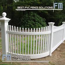 China Pvc Fence For North American Fm404 China Pvc Fence