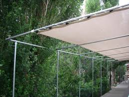 How To Install Design And Order Patio Pergola Knit Shade Covers The Natural Home