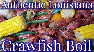 Authentic Louisiana Cajun Crawfish Boil ...