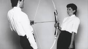 Marina Abramović & the arrow that could have easily taken her life ...