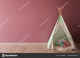 Cozy Play Tent Kids Child Room Stock Photo C Serezniy 222558202