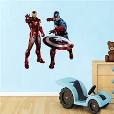 Colorcasa Removeable Pvc 3d Baby Room Wall Decal Paper Marvel Avengers Wall Papers Home Decor 1468 Buy Avengers 3d Wall Sticker Marve Decal Paper Wall Papers Home Decor Product On Alibaba Com