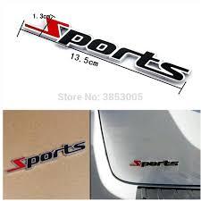 Car Styling Sport Logo Emblem Badge Decal Sticker For Suzuki Celerio W204 Opel Astra J Nissan Micra Alfa Romeo Giulietta Suzuki Car Stickers Aliexpress